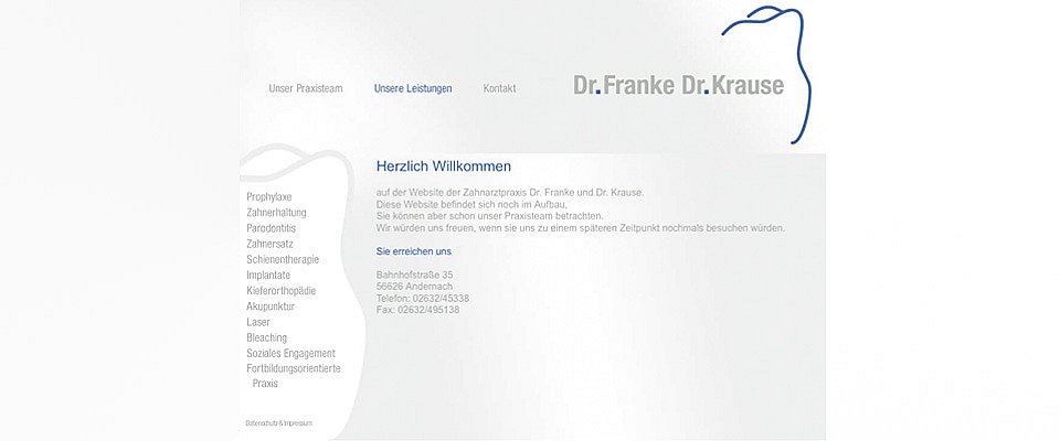 Zahnarztpraxis Franke Krause